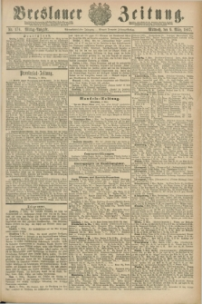 Breslauer Zeitung. Jg.68, Nr. 170 (9 März 1887) - Mittag-Ausgabe
