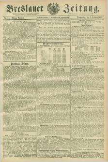 Breslauer Zeitung. Jg.70, Nr. 95 (7 Februar 1889) - Mittag-Ausgabe