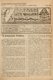 Gazeta Podhalańska. 1924, nr37