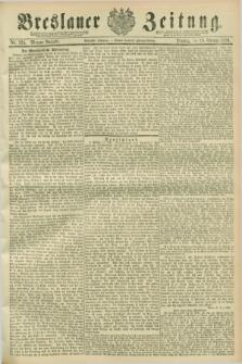 Breslauer Zeitung. Jg.70, Nr. 124 (19 Februar 1889) - Morgen-Ausgabe + dod.