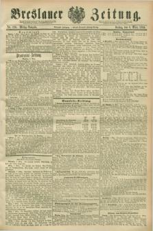 Breslauer Zeitung. Jg.70, Nr. 170 (8 März 1889) - Mittag-Ausgabe