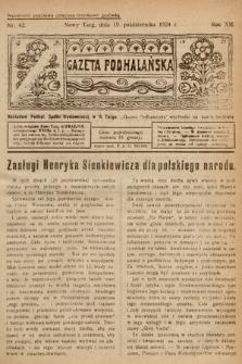 Gazeta Podhalańska. 1924, nr42