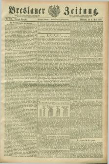 Breslauer Zeitung. Jg.70, Nr. 319 (8 Mai 1889) - Morgen-Ausgabe + dod.