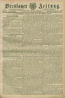 Breslauer Zeitung. Jg.70, Nr. 373 (30 Mai 1889) - Morgen-Ausgabe + dod.