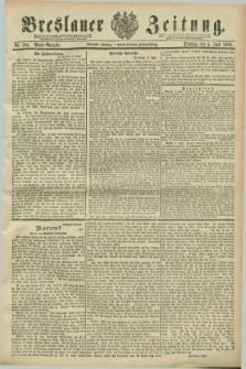 Breslauer Zeitung. Jg.70, Nr. 384 (4 Juni 1889) - Abend-Ausgabe