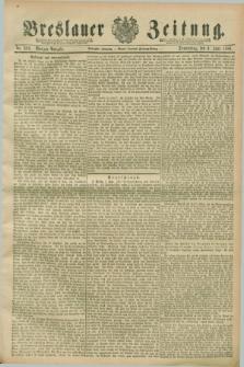 Breslauer Zeitung. Jg.70, Nr. 388 (6 Juni 1889) - Morgen-Ausgabe + dod.