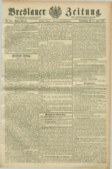 Breslauer Zeitung. Jg.70, Nr. 404 (13 Juni 1889) - Mittag-Ausgabe