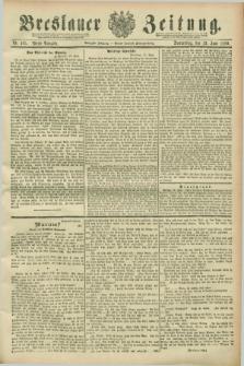Breslauer Zeitung. Jg.70, Nr. 405 (13 Juni 1889) - Abend-Ausgabe