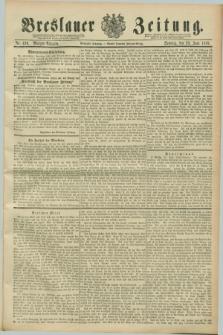 Breslauer Zeitung. Jg.70, Nr. 430 (23 Juni 1889) - Morgen-Ausgabe + dod.