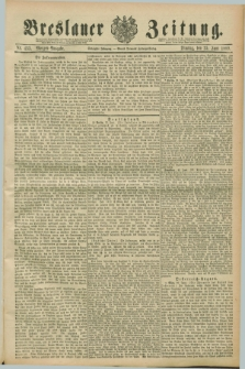 Breslauer Zeitung. Jg.70, Nr. 433 (25 Juni 1889) - Morgen-Ausgabe + dod.