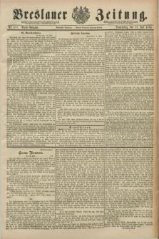 Breslauer Zeitung. Jg.70, Nr. 477 (11 Juli 1889) - Abend-Ausgabe