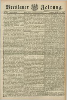Breslauer Zeitung. Jg.70, Nr. 481 (13 Juli 1889) - Morgen-Ausgabe + dod.