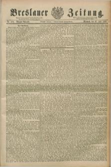 Breslauer Zeitung. Jg.70, Nr. 490 (17 Juli 1889) - Morgen-Ausgabe + dod.