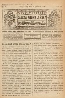Gazeta Podhalańska. 1924, nr50