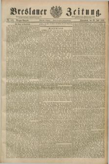 Breslauer Zeitung. Jg.70, Nr. 499 (20 Juli 1889) - Morgen-Ausgabe + dod.