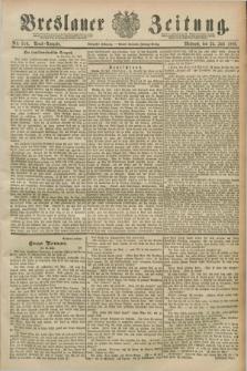 Breslauer Zeitung. Jg.70, Nr. 510 (24 Juli 1889) - Abend-Ausgabe