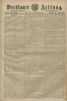 Breslauer Zeitung. Jg.70, Nr. 529 (1 August 1889) - Morgen-Ausgabe + dod.
