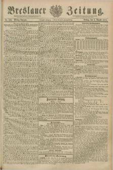 Breslauer Zeitung. Jg.70, Nr. 533 (2 August 1889) - Mittag-Ausgabe