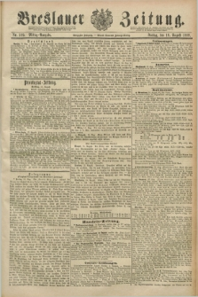 Breslauer Zeitung. Jg.70, Nr. 569 (16 August 1889) - Mittag-Ausgabe