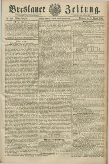 Breslauer Zeitung. Jg.70, Nr. 581 (21 August 1889) - Mittag-Ausgabe