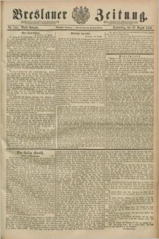 Breslauer Zeitung. Jg.70, Nr. 585 (22 August 1889) - Abend-Ausgabe