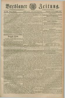 Breslauer Zeitung. Jg.70, Nr. 602 (29 August 1889) - Mittag-Ausgabe
