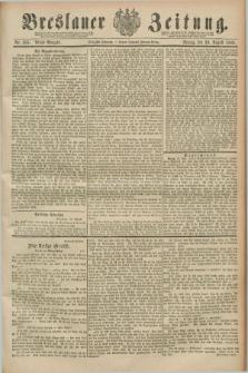 Breslauer Zeitung. Jg.70, Nr. 606 (30 August 1889) - Abend-Ausgabe