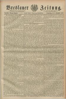 Breslauer Zeitung. Jg.70, Nr. 619 (5 September 1889) - Morgen-Ausgabe + dod.