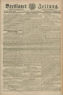 Breslauer Zeitung. Jg.70, Nr. 620 (5 September 1889) - Mittag-Ausgabe