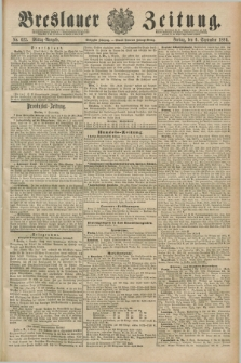 Breslauer Zeitung. Jg.70, Nr. 623 (6 September 1889) - Mittag-Ausgabe
