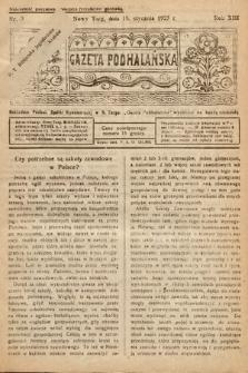 Gazeta Podhalańska. 1925, nr3
