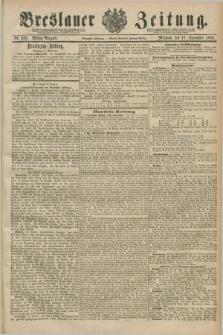Breslauer Zeitung. Jg.70, Nr. 635 (11 September 1889) - Mittag-Ausgabe