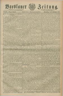 Breslauer Zeitung. Jg.70, Nr. 637 (12 September 1889) - Morgen-Ausgabe + dod.