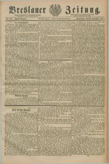 Breslauer Zeitung. Jg.70, Nr. 657 (19 September 1889) - Abend-Ausgabe