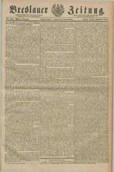 Breslauer Zeitung. Jg.70, Nr. 658 (20 September 1889) - Morgen-Ausgabe + dod.