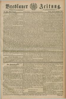 Breslauer Zeitung. Jg.70, Nr. 660 (20 September 1889) - Abend-Ausgabe