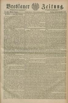 Breslauer Zeitung. Jg.70, Nr. 667 (24 September 1889) - Morgen-Ausgabe + dod.