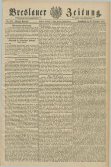 Breslauer Zeitung. Jg.70, Nr. 679 (28 September 1889) - Morgen-Ausgabe + dod.