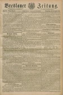 Breslauer Zeitung. Jg.70, Nr. 710 (10 Oktober 1889) - Mittag-Ausgabe