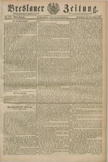 Breslauer Zeitung. Jg.70, Nr. 711 (10 Oktober 1889) - Abend-Ausgabe