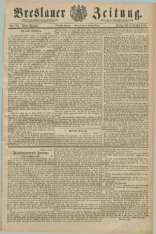 Breslauer Zeitung. Jg.70, Nr. 714 (11 Oktober 1889) - Abend-Ausgabe