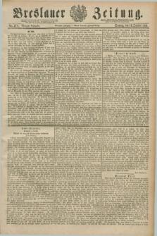 Breslauer Zeitung. Jg.70, Nr. 718 (13 Oktober 1889) - Morgen-Ausgabe + dod.