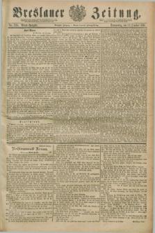 Breslauer Zeitung. Jg.70, Nr. 729 (17 October 1889) - Abend-Ausgabe