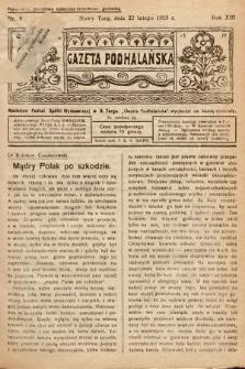 Gazeta Podhalańska. 1925, nr8