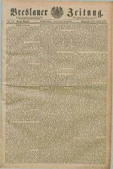 Breslauer Zeitung. Jg.70, Nr. 733 (19 October 1889) - Morgen-Ausgabe + dod.
