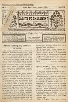 Gazeta Podhalańska. 1925, nr9