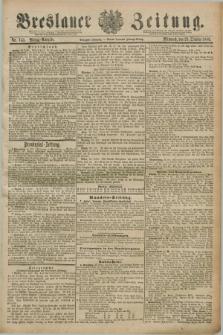 Breslauer Zeitung. Jg.70, Nr. 743 (23 October 1889) - Mittag-Ausgabe