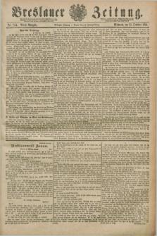 Breslauer Zeitung. Jg.70, Nr. 744 (23 October 1889) - Abend-Ausgabe