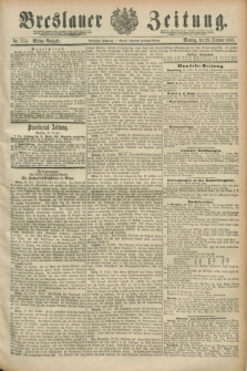 Breslauer Zeitung. Jg.70, Nr. 755 (28 October 1889) - Mittag-Ausgabe