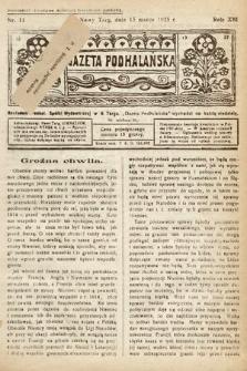 Gazeta Podhalańska. 1925, nr11